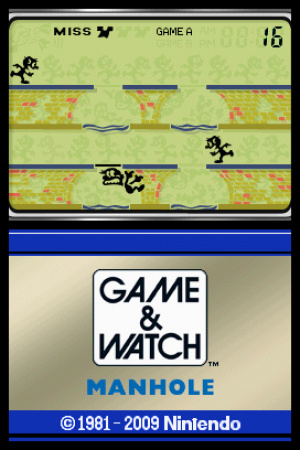 Game & Watch Manhole Review - Screenshot 2 of 2