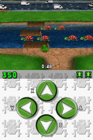 Frogger Returns Review - Screenshot 1 of 2