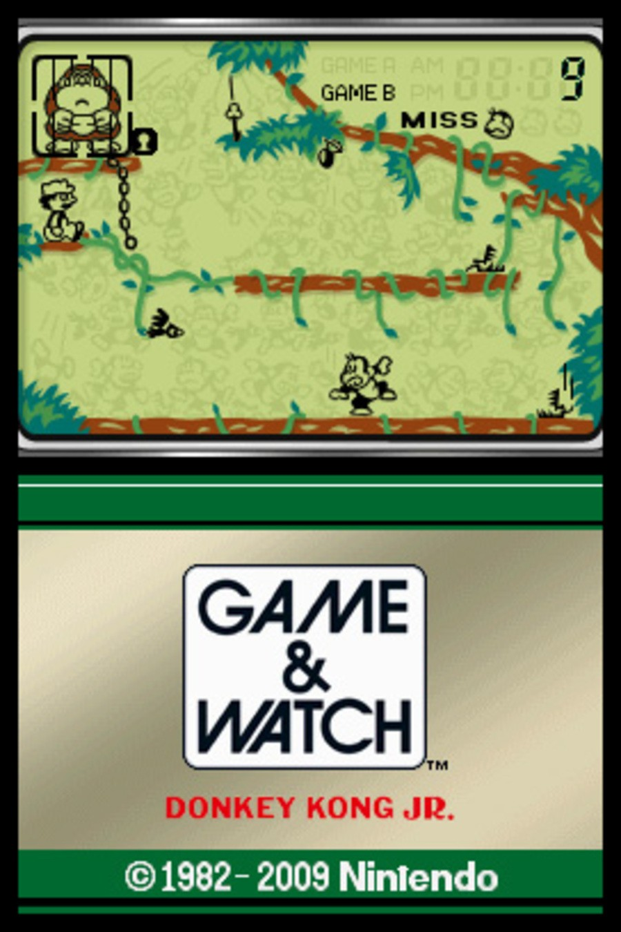 Game & Watch Donkey Kong Jr. Screenshot