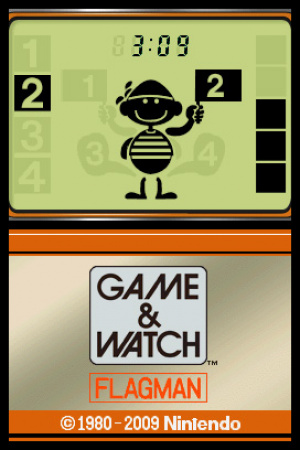 Game & Watch Flagman Review - Screenshot 2 of 2