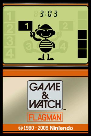Game & Watch Flagman Review - Screenshot 1 of 2