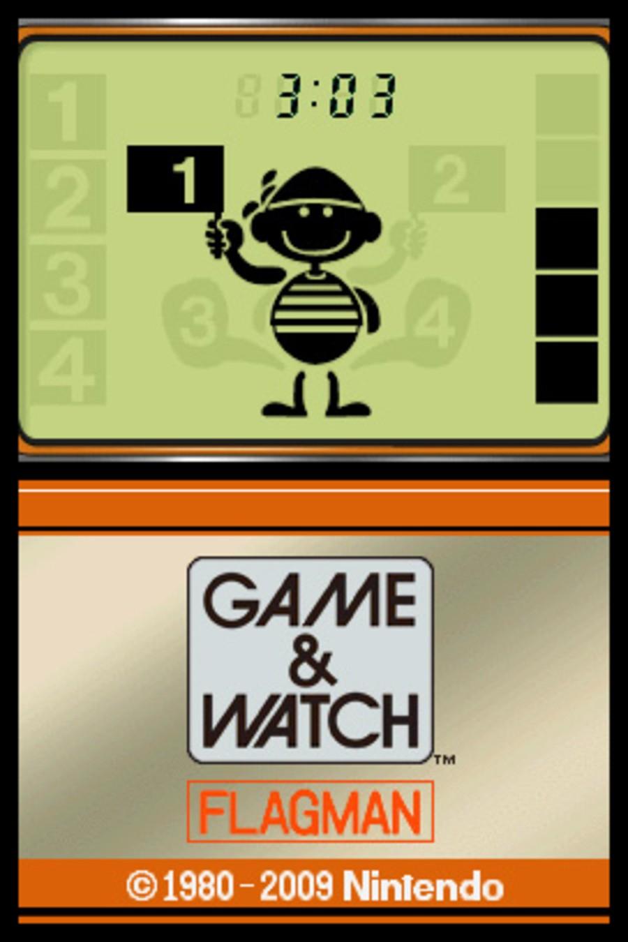 Game & Watch Flagman Screenshot