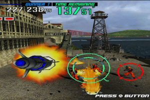 Gunblade NY and LA Machineguns Arcade Hits Pack Screenshot