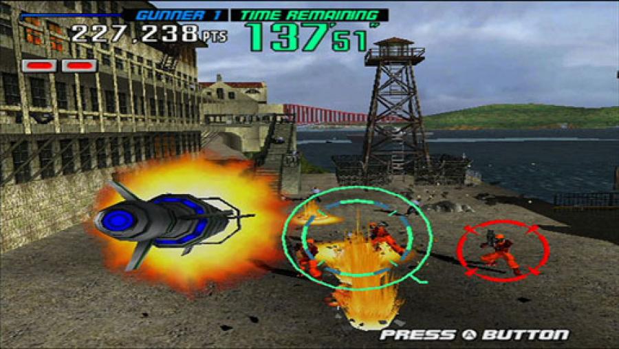 Gunblade NY and LA Machineguns Arcade Hits Pack Review - Screenshot 4 of 4