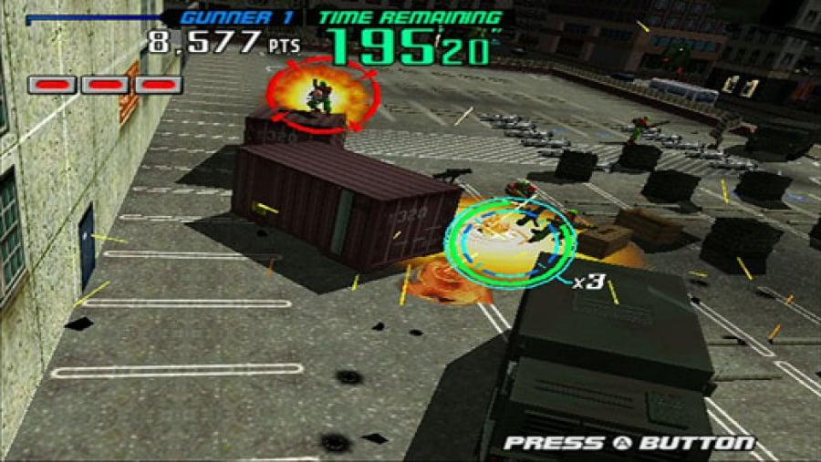 Gunblade NY and LA Machineguns Arcade Hits Pack Review - Screenshot 3 of 4
