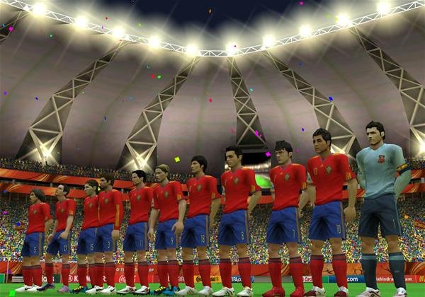 2010 FIFA World Cup South Africa Screenshot