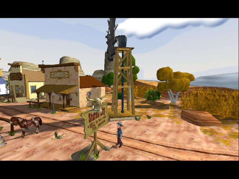 "Fenimore Fillmore ""The Westerner"" Screenshot"