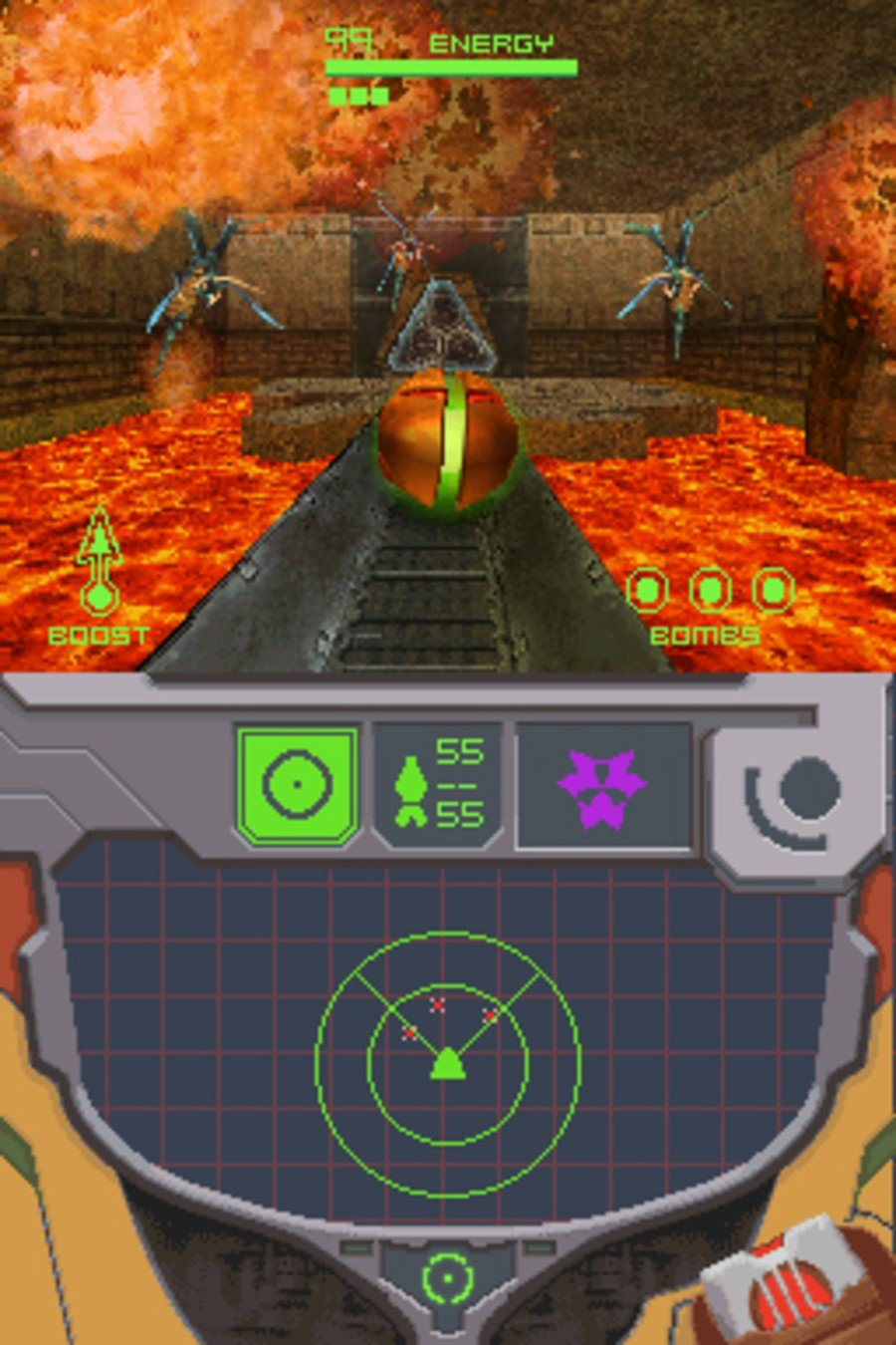Metroid Prime: Hunters Screenshot