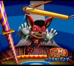 Aero the Acrobat Review - Screenshot 1 of 4