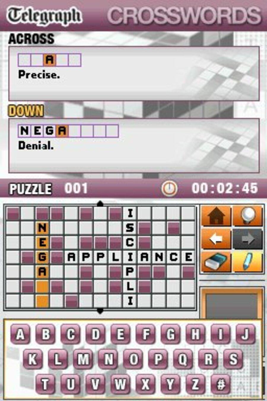 Telegraph Crosswords Screenshot