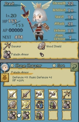 Final Fantasy: The 4 Heroes of Light Review - Screenshot 1 of 3