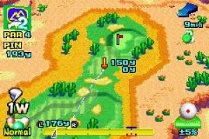 Mario Golf: Advance Tour Screenshot