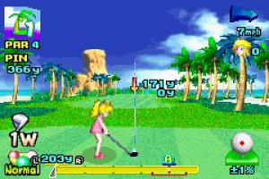 Mario Golf: Advance Tour Screenshot
