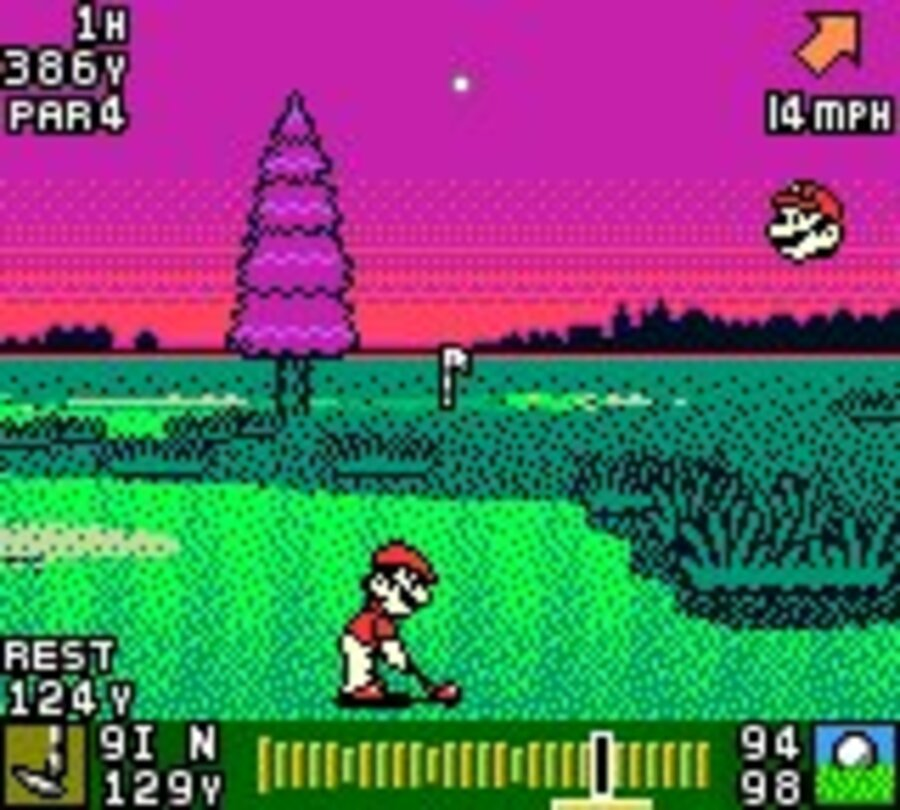 Mario Golf Screenshot