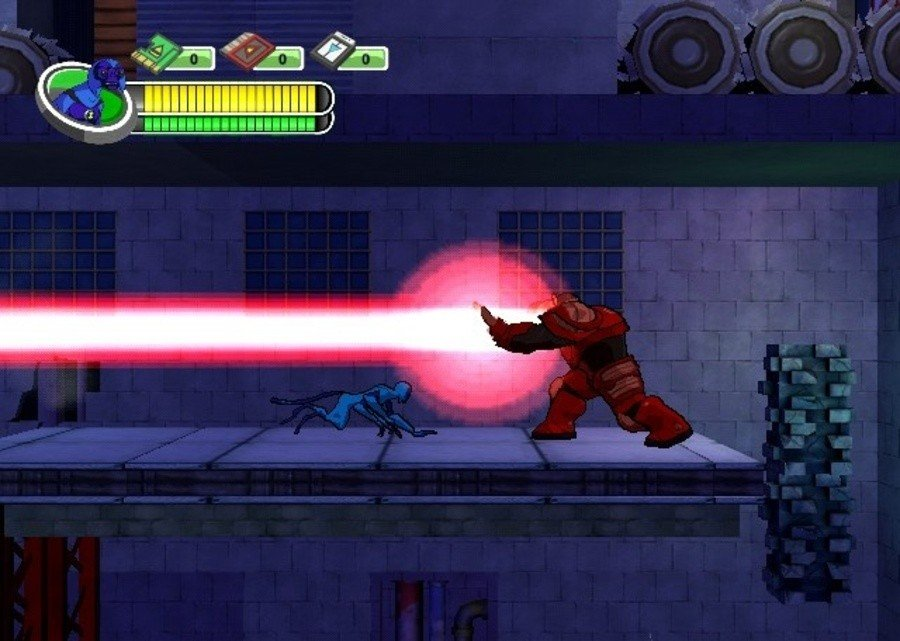 Ben 10 Alien Force: The Rise of Hex Screenshot