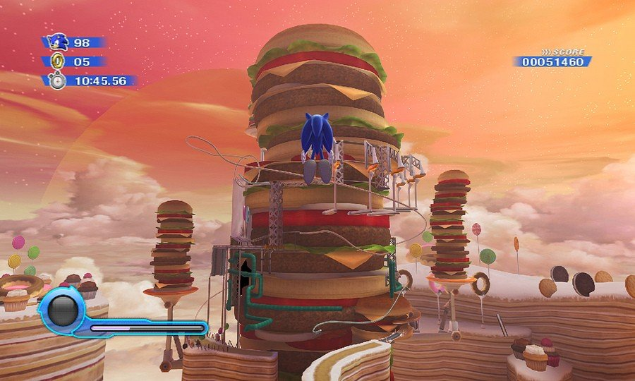 Sonic Colours Screenshot