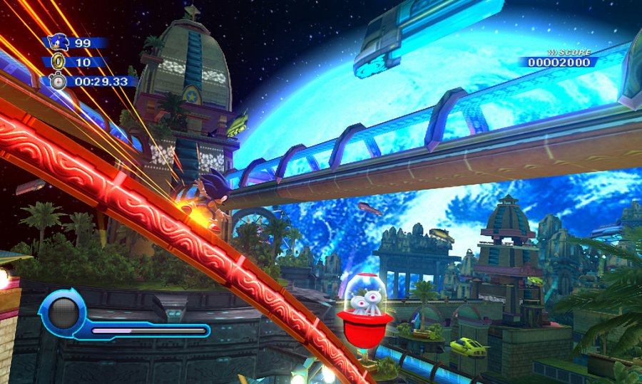Sonic Colours Review - Screenshot 1 of 4