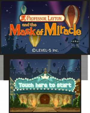 Professor Layton and the Miracle Mask Review - Screenshot 2 of 5