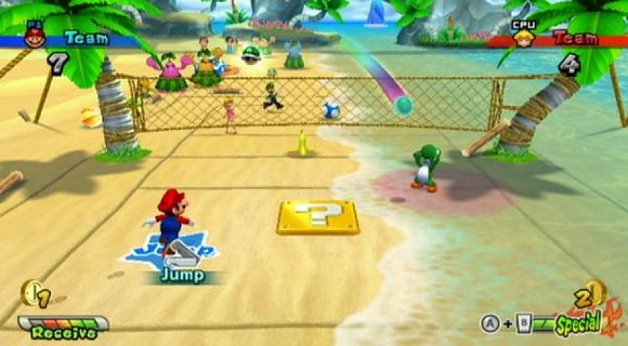Mario Sports Mix Review - Screenshot 2 of 6