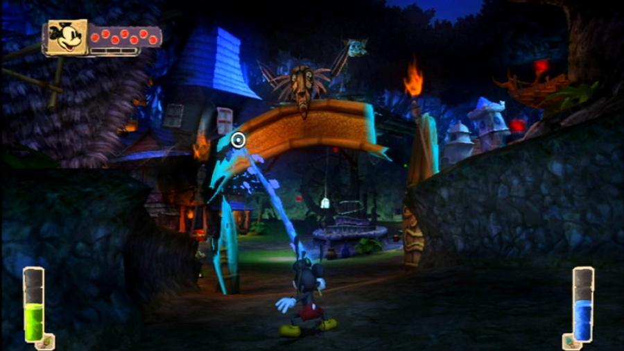 Disney Epic Mickey Review - Screenshot 1 of 7