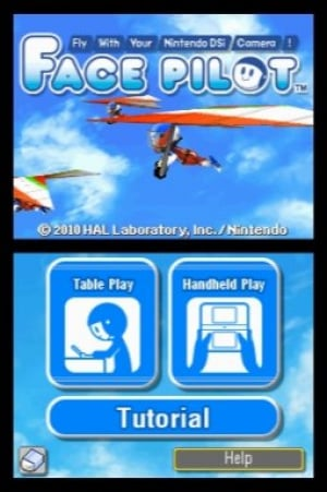 Face Pilot: Fly With Your Nintendo DSi Camera! Review - Screenshot 2 of 2