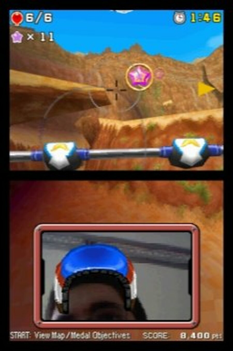 Face Pilot: Fly With Your Nintendo DSi Camera! Screenshot