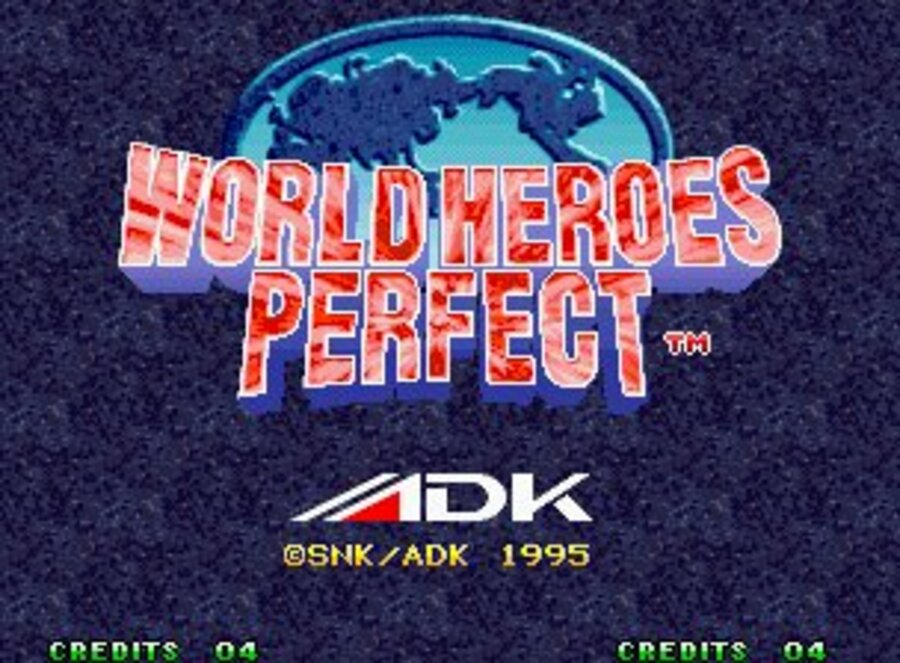 World Heroes Perfect Screenshot