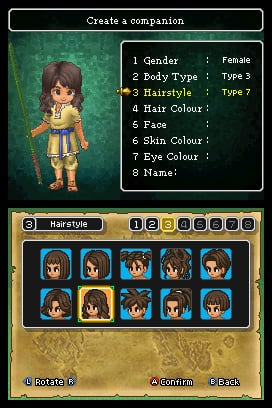 Dragon Quest IX: Sentinels of the Starry Skies Screenshot