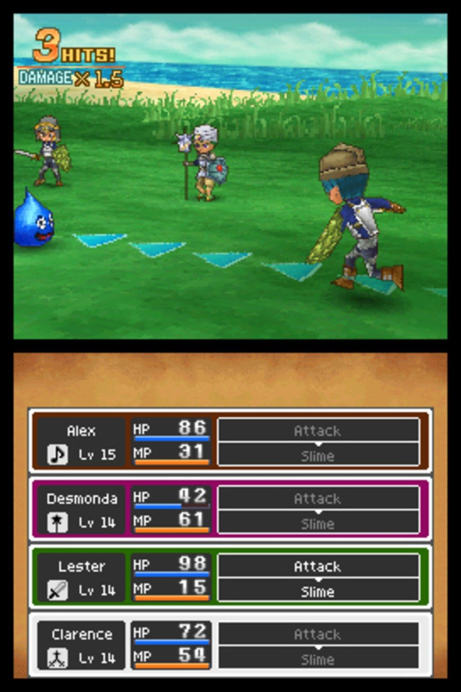 Dragon Quest IX: Sentinels of the Starry Skies Screenshot