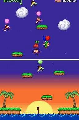 Tingle's Balloon Fight Screenshot