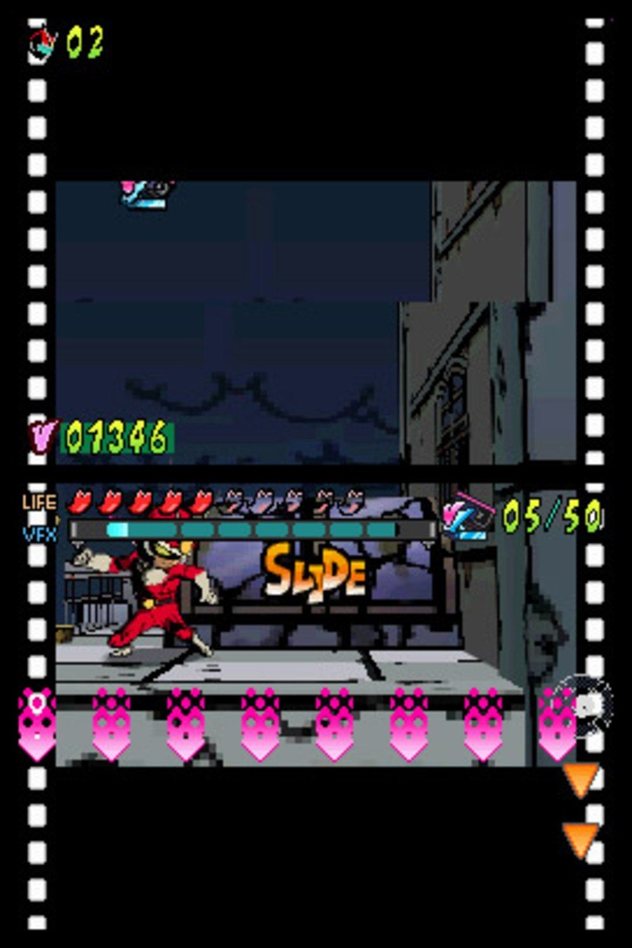 Viewtiful Joe: Double Trouble Screenshot