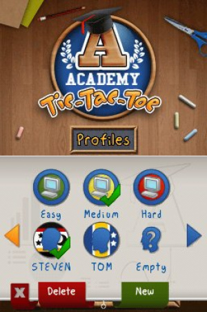 Academy: Tic-Tac-Toe Review - Screenshot 1 of 2