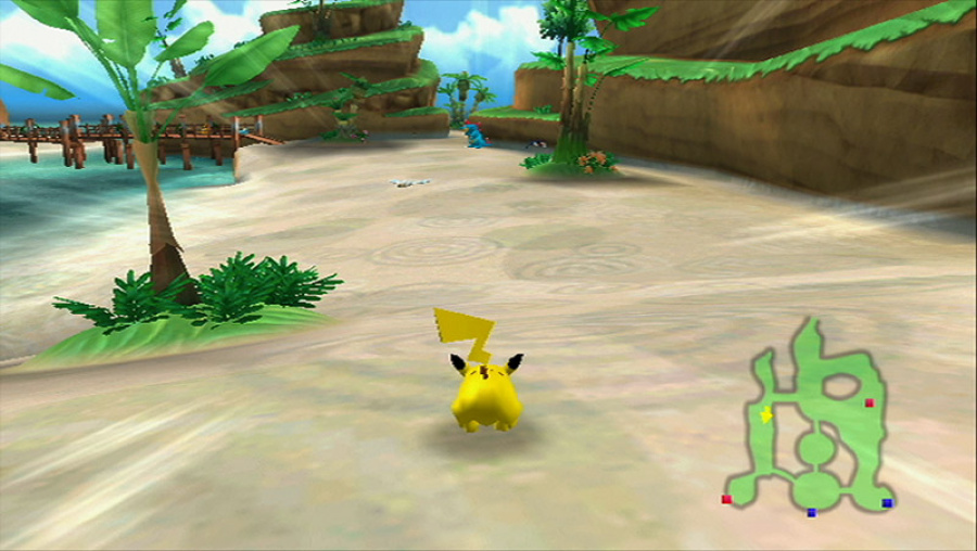 PokéPark Wii: Pikachu's Adventure Review - Screenshot 1 of 5
