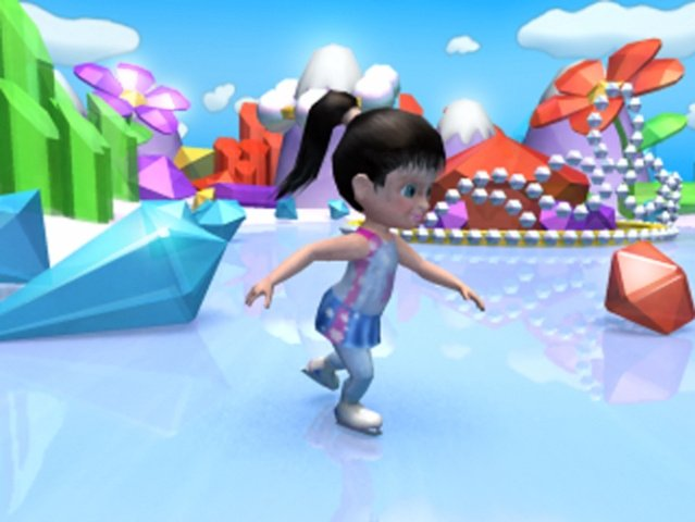 Girlfriends Forever: Magic Skate Screenshot