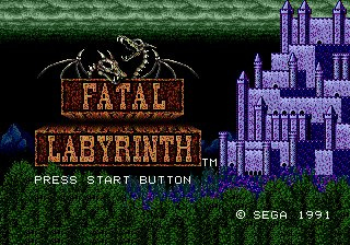 Fatal Labyrinth Screenshot