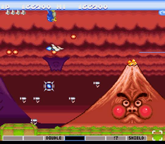 Parodius: Non-Sense Fantasy Screenshot