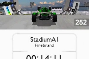 TrackMania DS Screenshot