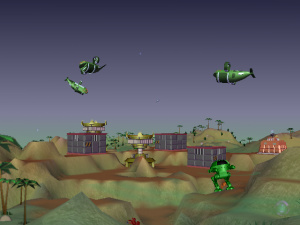 A Monsteca Corral: Monsters vs. Robots Review - Screenshot 3 of 6