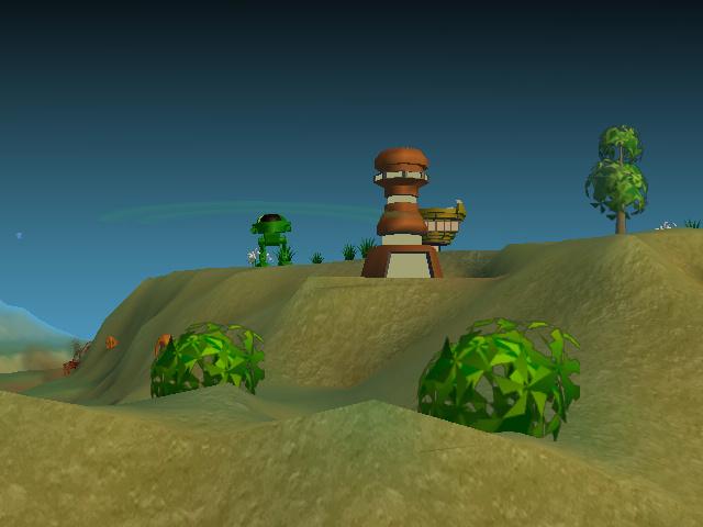 A Monsteca Corral: Monsters vs. Robots Screenshot