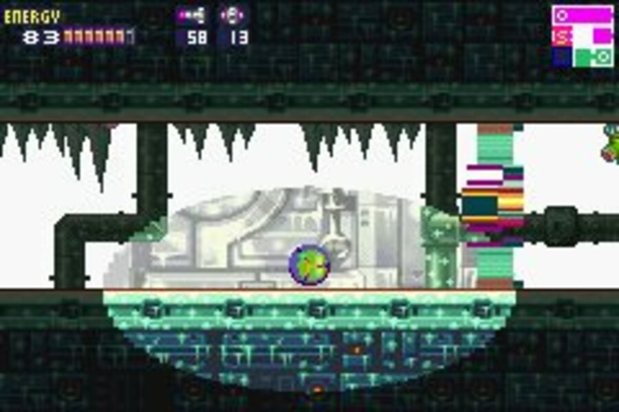 Metroid Fusion Screenshot