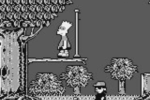 Bart Simpson's Escape from Camp Deadly Screenshot