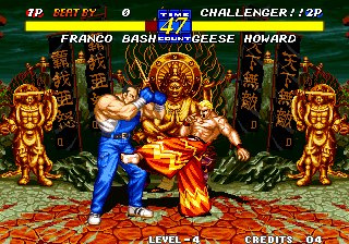 Fatal Fury 3: Road to the Final Victory (Neo Geo) Game