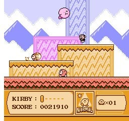 Kirby's Adventure Screenshot