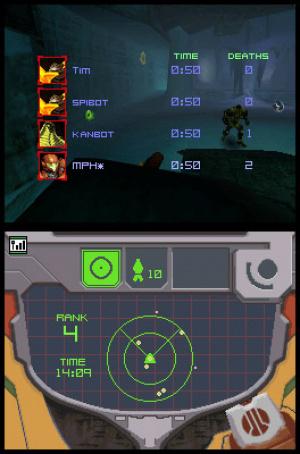 Metroid Prime: Hunters Review - Screenshot 1 of 4