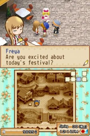 Harvest Moon DS: Grand Bazaar Review - Screenshot 4 of 4
