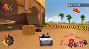 Racers' Islands: Crazy Racers Review - Screenshot 1 of 5