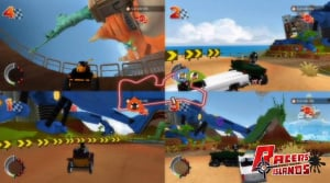 Racers' Islands: Crazy Racers Review - Screenshot 2 of 5