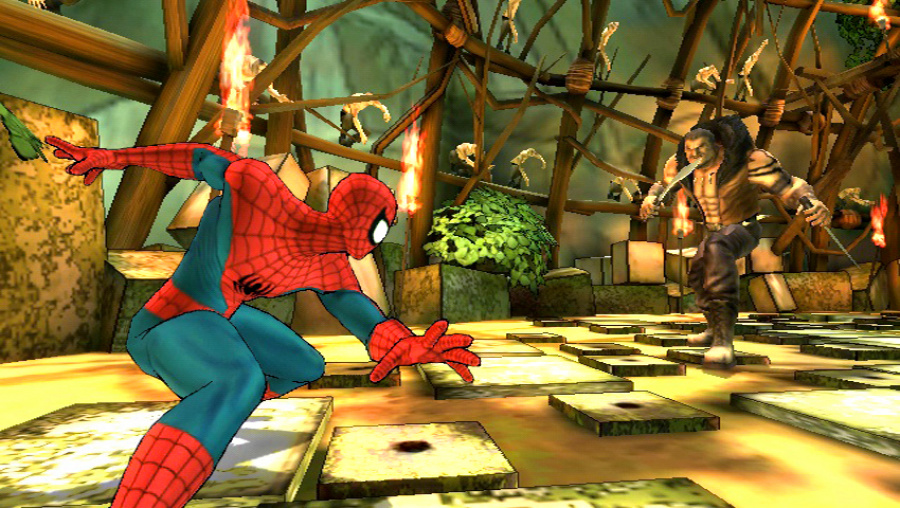 Spider-Man: Shattered Dimensions Review - Screenshot 2 of 4