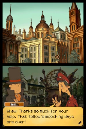 Professor Layton and the Unwound Future Review - Screenshot 1 of 4