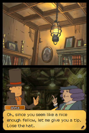 Professor Layton and the Unwound Future Review - Screenshot 2 of 4